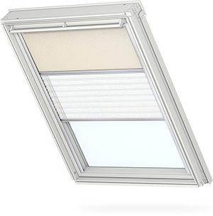 Velux duo blind for Oscurante velux